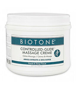 Biotone Controlled Glide Massage & Spa Therapy Cream - 32 Ounce Tub Of Creme