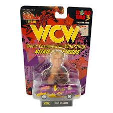 WCW RACING CHAMPIONS NItro Street Rods RIC FLAIR COllector Series Sealed