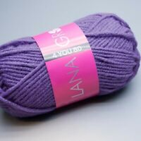 Lana Grossa 4 YOU 80 - 809 corsican blue 50g Wolle (3.90 EUR pro 100 g)
