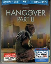 The Hangover Part II Blu-ray + DVD  2013  STEELBOOK -NEW-