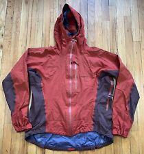 Vintage Patagonia Lined Zip Vented Windbreaker Jacket Mens Medium Red