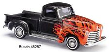 Busch HO 48287   Chevy Pick-up Red Flame  Neu OVP