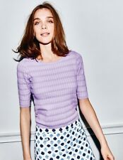 BNWT Boden Sophia Knitted Top UK 14 EU 40 US 10 Lilac