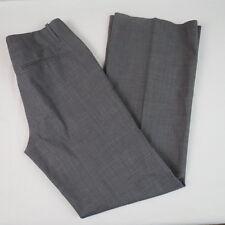 Banana Republic Dress Pants Women Size 4 Stretch Wool Blend Brown