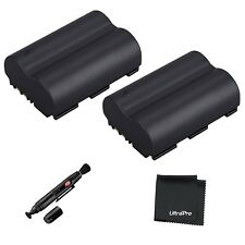 UltraPro 2pc BP-511A High-Capacity Replacement Battery f/Select Canon Powershot