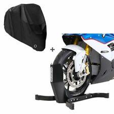 Motorradwippe + Abdeckplane für Ducati Monster 1100 / Evo EP schwarz