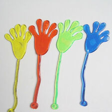 10x Kids Funny Favors Mini Sticky Jelly Stick Slap Nice Gifts Hands Toys