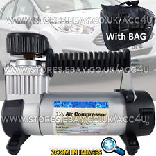 12v 100 PSI Hi Speed Car Van Tyre Air Compressor Inflator Electric Pump SWAC17