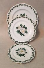 "Royal Albert Bone China England Lady Clare set of 3 plates 10 1/4"", 8"", 6 1/4"""