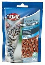 Trixie Mini Nuggets Cat Treats With Tuna Chicken & Catnip Gluten Free 50g x 2