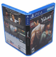 Yakuza 6: The Song of Life PS4 Replacement Game Case And Insert (No Game Disc)