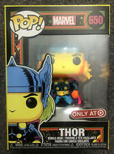 Thor Black Light Funko POP! Marvel Avengers #650 Target Exclusive SOME BOX FLAWS