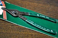 "Diamond 8"" Retaining Snap Ring Plier for Int./Ext.Rings MADE IN USA Old but new!"
