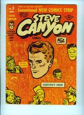 STEVE CANYON COMICS (1948) 3  MILTON CANIFF HARVEY PUBLICATIONS TERRY PIRATES