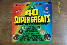 K-Tel - 40 super greats - double album ('70 hits)