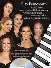 Play Piano With Katie Melua Norah Jones MUSIC Book + CD