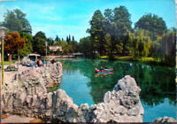 1965 cartolina BOLOGNA Giardini Margherita Laghetto - foto Kodak