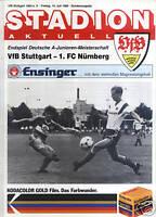 Finale A-Junioren 1989 VfB Stuttgart - 1. FC Nürnberg
