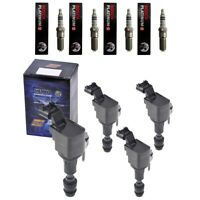 New Herko Ignition Coils (4) + (4) Bosch Spark Plugs For 2006-09 Chevy Pontiac