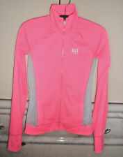 Abercrombie~L~Sports Jacket,Pink/Gray nylon,Solid,Everyday,Long/sleeve,Cuff hole