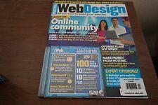 WEB DESIGN MAGAZINE WITH CD-ROM
