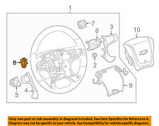 GM OEM Steering Wheel-Audio Stereo Remote Switch Button 23134240