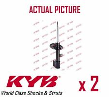 2 x NEW KYB FRONT AXLE SHOCK ABSORBERS PAIR STRUTS SHOCKERS OE QUALITY 338735