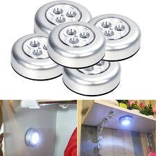 5 piezas Grifo STICK Bombilla LED Noche Luces Interior Portátil con pilas Touch
