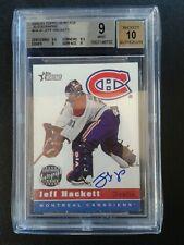 2000-01 Topps Heritage Autograph Jeff Hackett