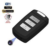 Hidden Camera Keychain WiFi DVR Recorder Fuvision 1080P Mini Portable Keyfob IP