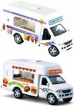 "Softy Ice Cream & Hotdog Berger Truck diecast model pull back &go action 5""Long"