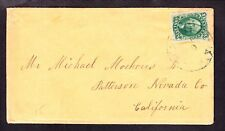 US 15 10c on Cover to Patterson, CA SCV $190