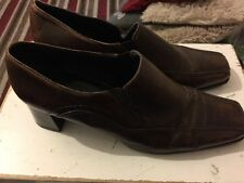 Brown Leather Boots By Jana  - Size 7G (7.5 - 8)