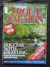 Trout And Salmon, December 2013, Grayling in Eden, Victoria's Favourite Haunt