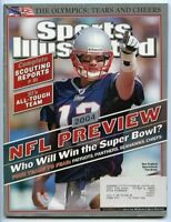 SI: Sports Illustrated September 6, 2004 NFL Preview: Tom Brady, Patriots, GOOD