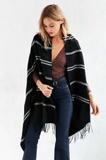 Urban Outfitters Soft Stripe Poncho by BDG