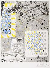 "Salvador Dali  ""Don Quixote - Don Quichotte Lesend"" Signed and ED300 Lithograph"