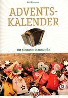 Steirische Harmonika Noten : Adventskalender m. CD - Weihnachten - GRIFFSCHRIFT
