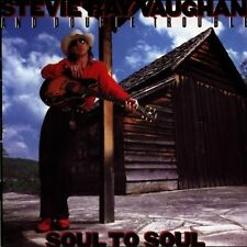 Stevie Ray Vaughan Soul to soul (1985, & Double Trouble) [CD]