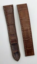 Authentic Cartier 16mm x 14mm Brown Alligator Deployment Strap Band KD02DN67 OEM