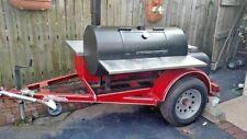 Ready to Grill 2013 - 5' x 8' Open Bbq Pit Smoker Tailgating Trailer for Sale in