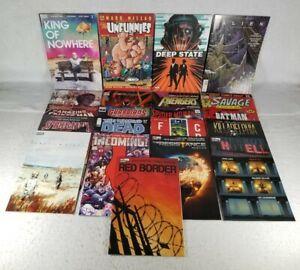 21 Comic Books Lot - DC, Image, Marvel, Dark Horse, BOOM!, Etc. - Free Shipping!
