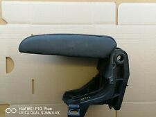 BMW E36 CENTER CONSOLE ARM RESTIN BLACK LEATHER  PN 8132486