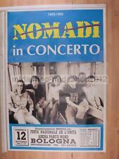 [MI  0138-]POSTER CONCERTO NOMADI 12-09-1993 BOLOGNA 70X100