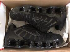 Nike Shox TL Black Trainers UK 10 EU 45 New Receipt