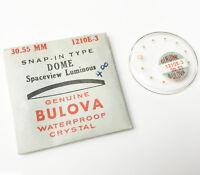 Bulova Genuine Accutron Dome 30.55mm Spaceview Luminous 1210E-3 Acrylic Crystal