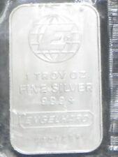 """""""ENGELHARD"""" 1 TROY OZ. .999+ FINE SILVER BAR"""