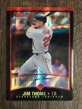 2001 Bowman Chrome Jim Thome #17 X-Fractor