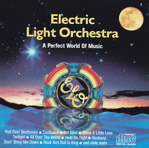 ELO - ELECTRIC LIGHT ORCHESTRA - CD - A PERFECT WORLD OF MUSIC