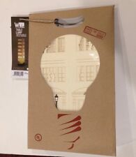 "NEW Lampada Da Tavolo. Table Lampshade. Ivory Cardboard. ""condo"""